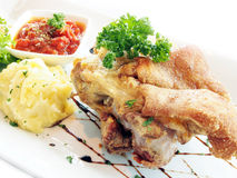 German pork roast Stock Photo