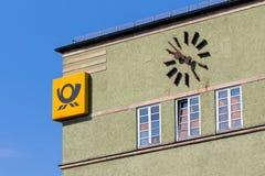 German Post Bayreuth stock photography