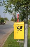 German Post Box ( DEUTSCHE POST) Stock Image