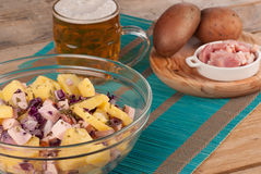 German potato salad Royalty Free Stock Images