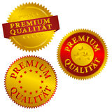 German Premium Quality Seals Stock Photo