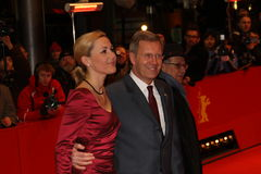 German President Christian Wulff and his wife Bet Stock Images
