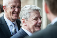 German President Gauck Stock Photography