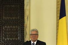 German President Joachim Gauck Royalty Free Stock Photos