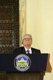 German President Joachim Gauck Stock Photos