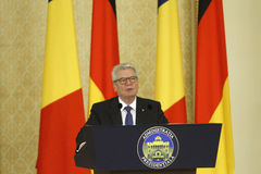 German President Joachim Gauck Royalty Free Stock Photos