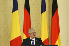 German President Joachim Gauck Royalty Free Stock Images