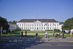 German Presidential Palace in Berlin, Castle Bellevue Stock Images