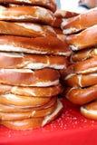 German Pretzel delicious Stock Image