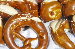 German pretzels Royalty Free Stock Photography