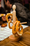 German Pretzels Royalty Free Stock Photos