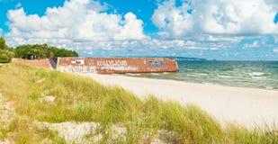 German Public Beach Stock Photo