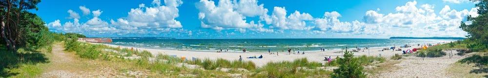 German Public Beach Royalty Free Stock Image