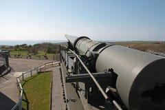 German rail gun of the Second World War  Stock Image