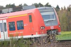 German Railway. Heidelberg 4th November 2009: Deutsche Bahn train Royalty Free Stock Image