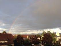 German rainbow royalty free stock photo