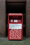 German Red Cross clothing donation drop box. In Berlin Germany Royalty Free Stock Images