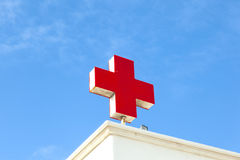 The German red cross symbolizes Royalty Free Stock Images