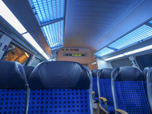 German regional train Royalty Free Stock Image