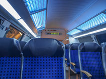German regional train Stock Photography