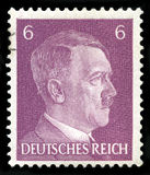 German Reich Postage Stamp from 1941. GERMANY - CIRCA 1941: A vintage German Reich Postage Stamp portraying an image Adolf Hitler, circa 1941 Stock Photography
