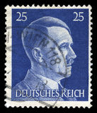 German Reich Postage Stamp from 1945 Stock Image