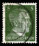 German Reich Postage Stamp from 1941 Royalty Free Stock Photo