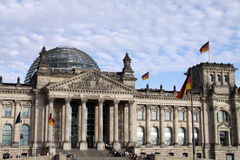 German Reichstag Royalty Free Stock Image