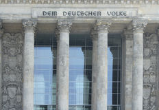 German reichstag Royalty Free Stock Images
