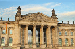 German reichstag Stock Photography