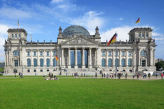 The German Reichstag Stock Images