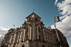 German Reichstag Royalty Free Stock Photo