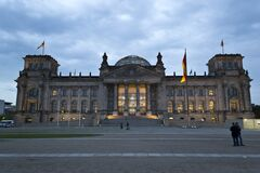 German Reichstag in Berlin Stock Photography