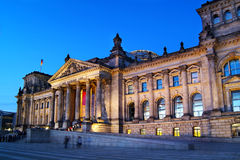 German Reichstag (Congress). In Berlin at dawn Stock Photography