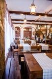 German restaurant in Bucharest, Romania Royalty Free Stock Photo