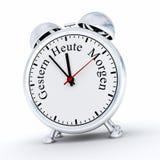 German alarm clock Royalty Free Stock Photos