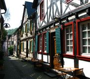 German Rhine village Royalty Free Stock Photography