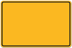 German road sign Stock Photo