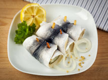 German Rollmops Royalty Free Stock Photos