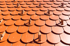German roof from a southern germany Royalty Free Stock Photos