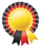 German rosette ribbon. Stock Image