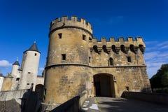 German's gate (Porte des Allemands), Metz Stock Photo