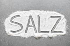 German salt Stock Image