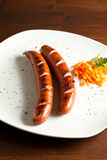 German Sausage Royalty Free Stock Image