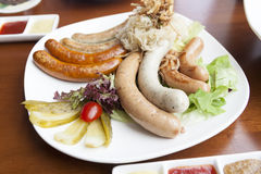 German sausage Royalty Free Stock Images
