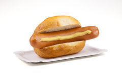 German sausage - Deutsche Bockwurst Royalty Free Stock Photography