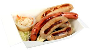 german sausage Royalty Free Stock Photo
