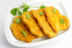 German schnitzel Royalty Free Stock Image
