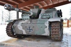 German self-propelled gun StuG III. Of the Second World War in Hamina, Finland Royalty Free Stock Photography