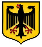 German Shield Royalty Free Stock Photos